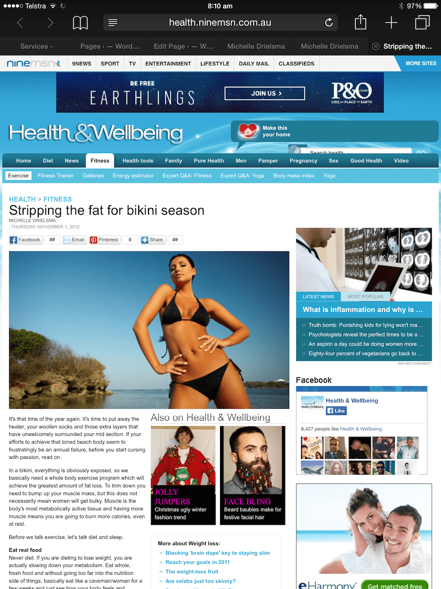 NineMSN StrippingFat 1-min